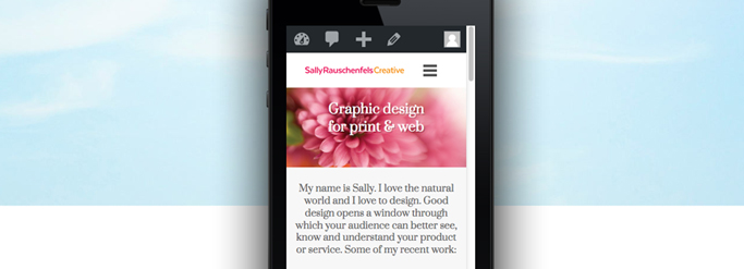 Make sure your new website is mobile friendly (responsive).